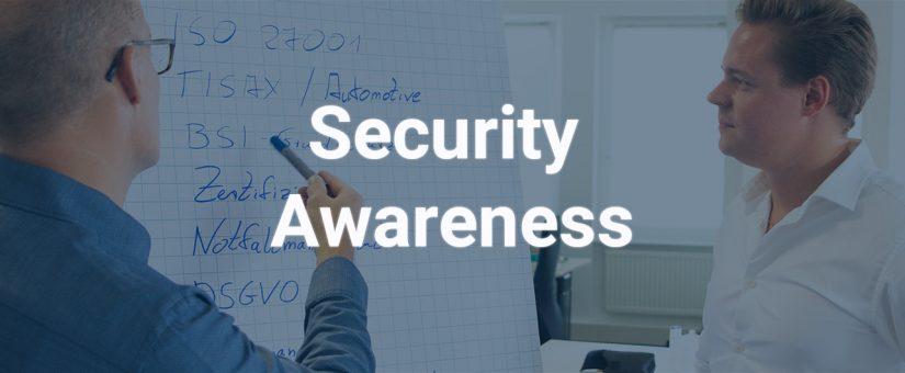 Informations-Sicherheitsbewusstsein der Mitarbeiter