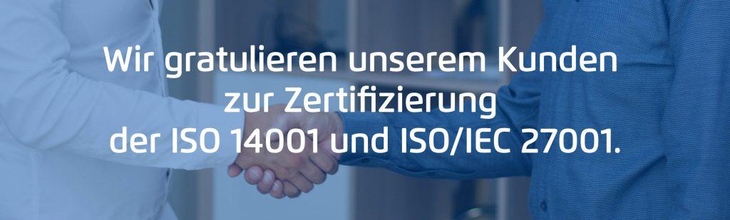 ISO 27001 Zertifizierung