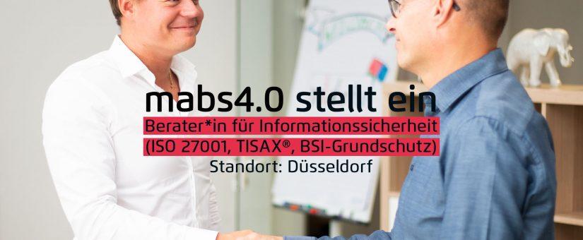 Berater*in für Informationssicherheit (ISO 27001, TISAX®, BSI-Grundschutz)