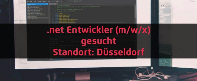 .net Entwickler (m/w/x) – Düsseldorf