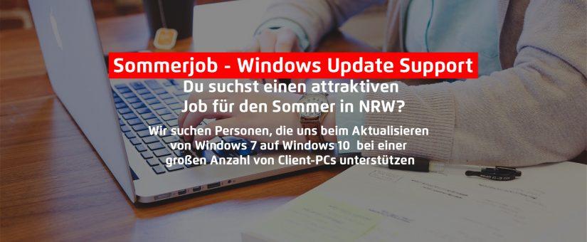 Windows Update Support (m/w/x) – NRW